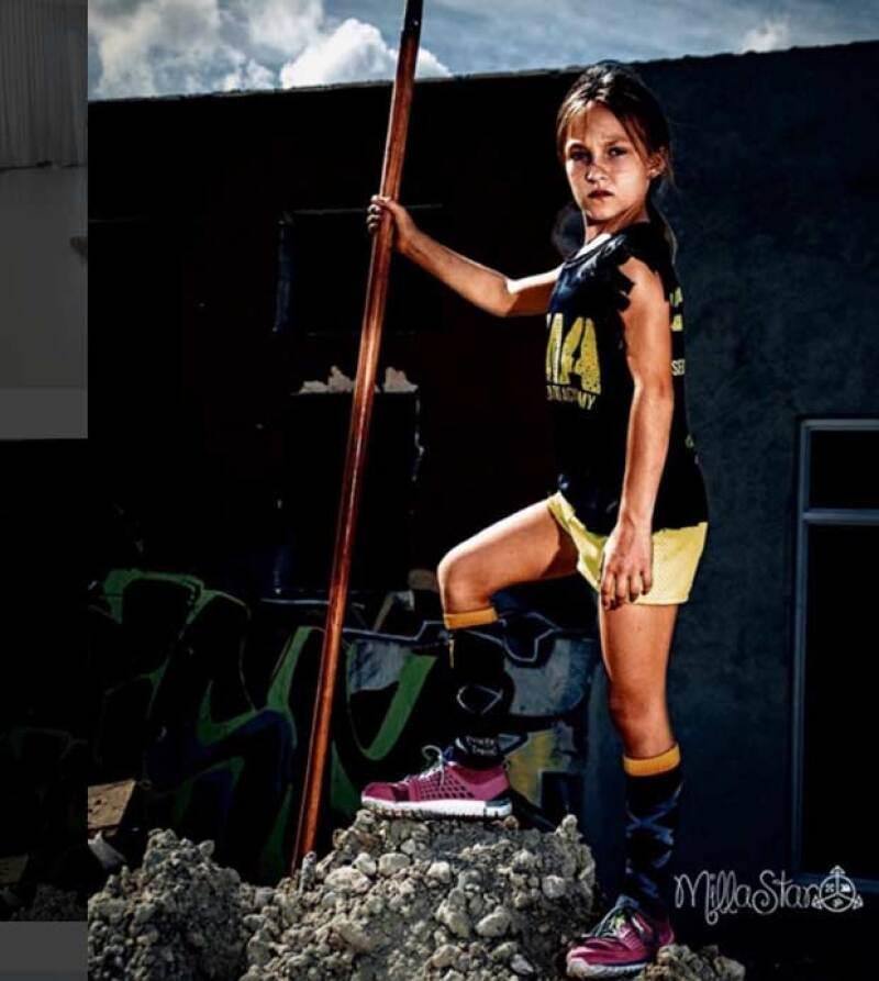 Para Milla no hay nada imposible. Esta niña puede hacer lo que muy pocos adultos: corre 58 kilómetros y nada 12 kilómetros. ¡Conoce su historia!