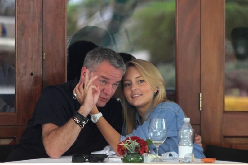 """""""El Güero"""" y Angelique llevaban tres años juntos."""