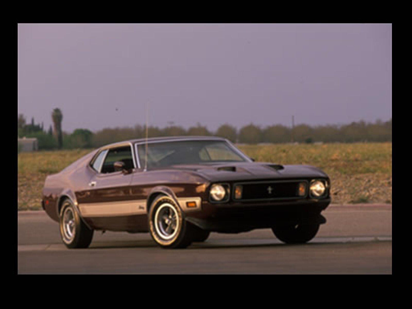 El modelo de 1973 fue el último Mustang con la plataforma Falcon.