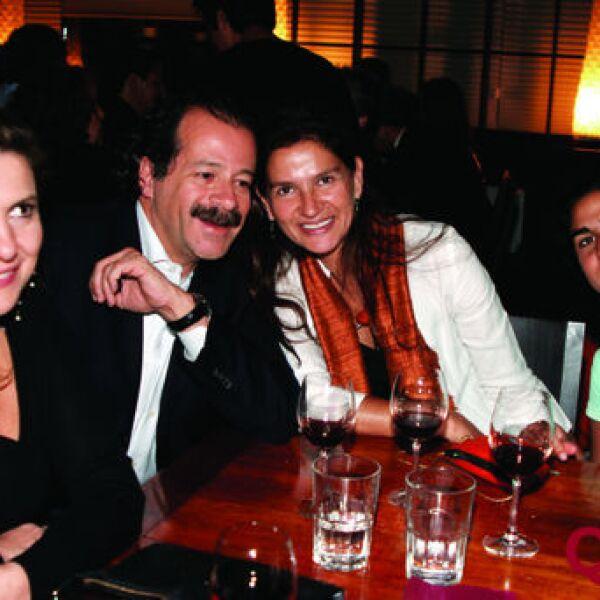 Patrici Algarabel, José Mora Mónica Patiño, Micaela Miguel