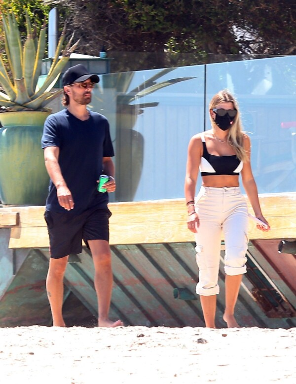 EXC Sofia Richie and Scott Disick