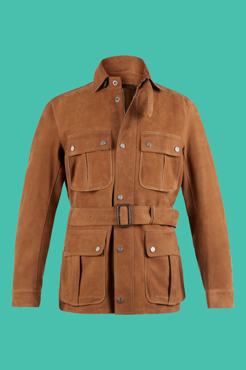 Este abrigo es una de las opciones más destacadas de la colección