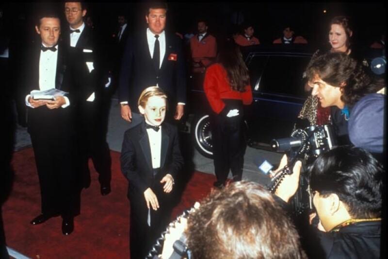 Kit Culkin, padre de Macaulay (primero a la izquierda), fue representante del pequeño actor desde que era niño. Él se emancipó a los 17 años.