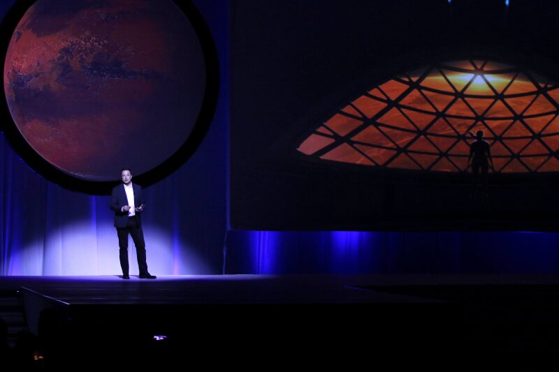 ¿Viajes a Marte?