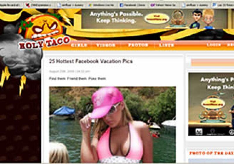El sitio de Internet suele tener rankings, fotos y encuestas de temas provocativos. (Foto: Especial)