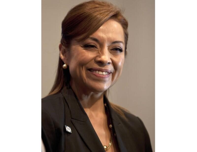 La ahora candidata para la presidencia posó junto con su familia para la revista Quién.