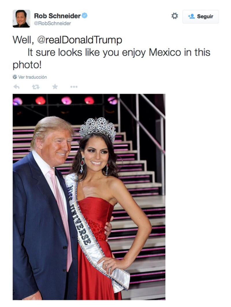 Esto fue lo que publicó el comediante en su cuenta de Twitter.