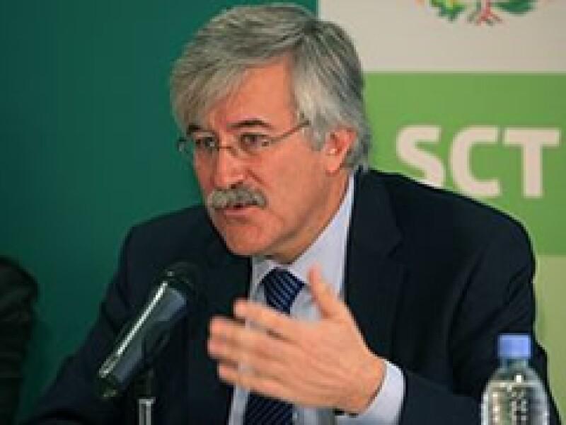 Óscar de Buen Richkarday, subsecretario de Infraestructura. (Foto: Cortesía SCT)