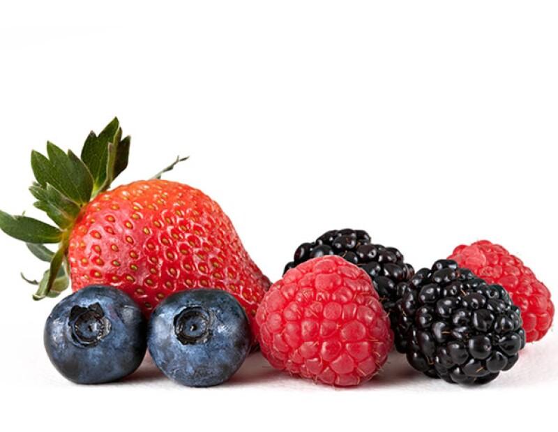 Las fresas contienen muchísimos antioxidantes que ayudan a mantener la piel sana e hidratada.