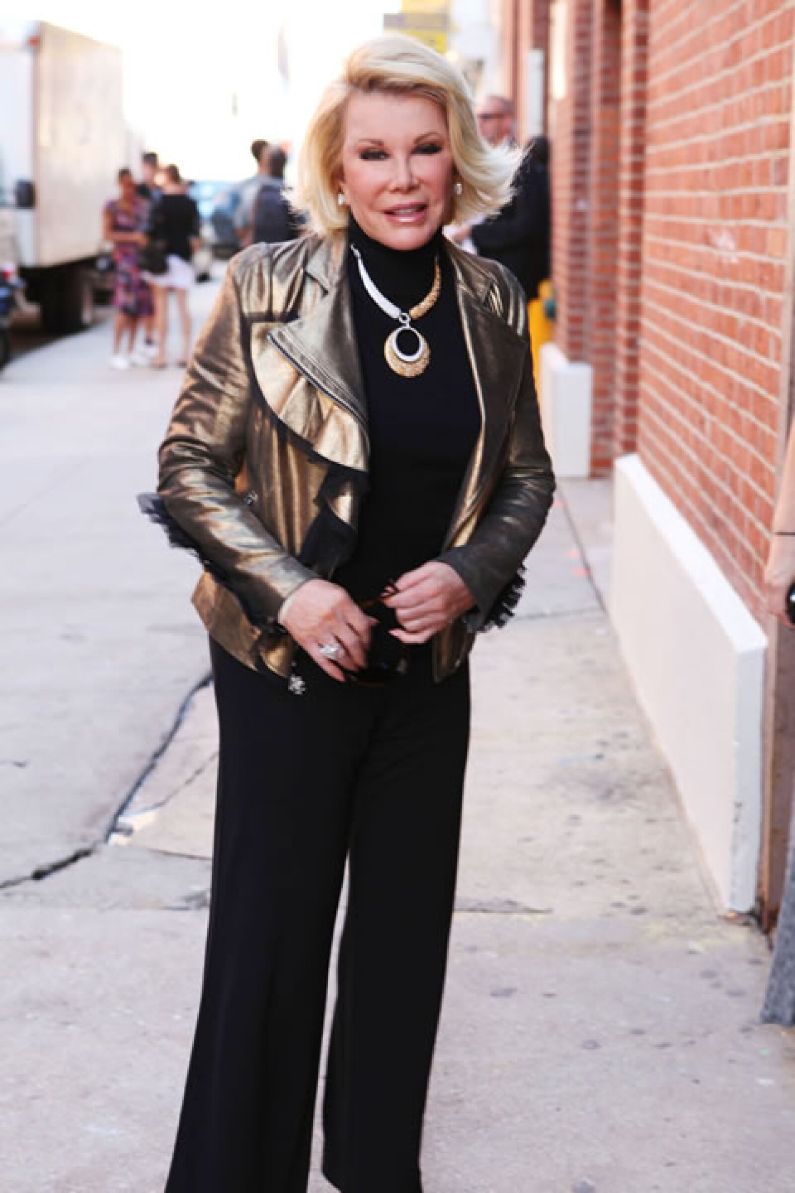 Joan Rivers.
