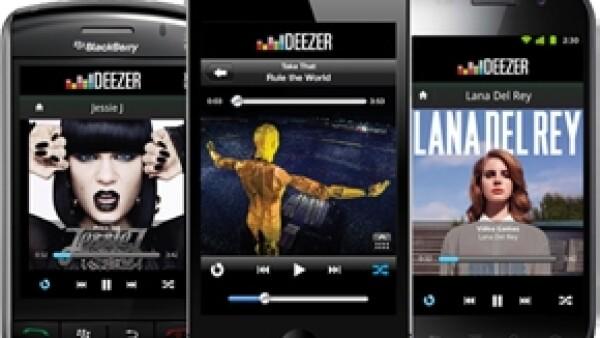 La cantante y otras celebs como Rodrigo Dávila y Eddie Vilard asistieron a la celebración por el éxito de Deezer, el nuevo servicio gratuito de música en streaming.