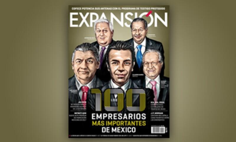 La edición 2015 sigue liderada por el empresario Carlos Slim. (Foto: Especial )