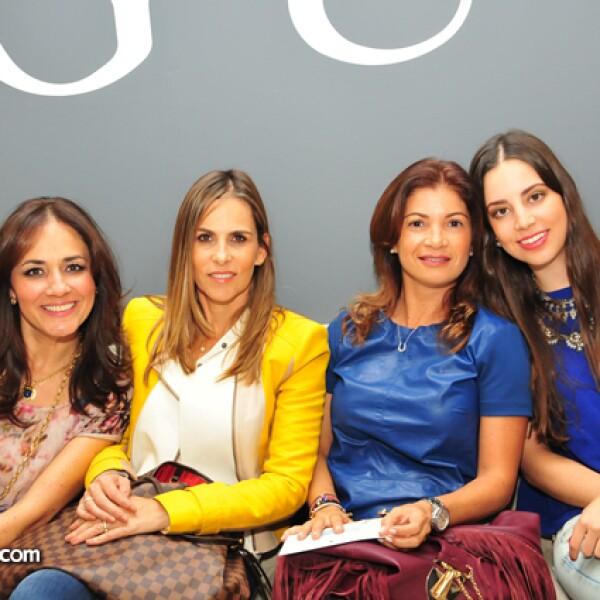Hilda Corona,Laura de la Cueva,Silvia Pérez y Giuliana Ramírez