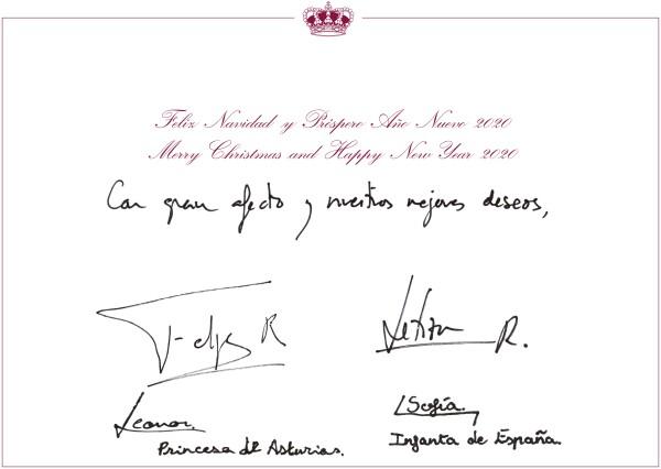 Deseos de los reyes de España