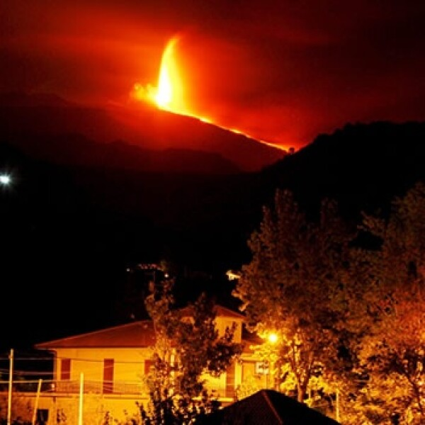 etna volcan sicilia