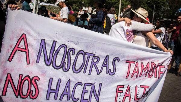 Marcha contra los feminicidios