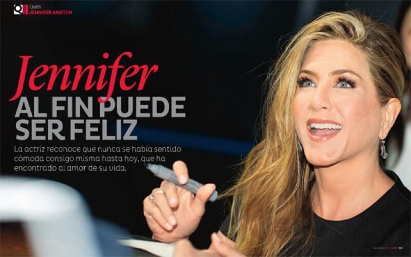 Jennifer Aniston por fin encuentra el amor verdadero.