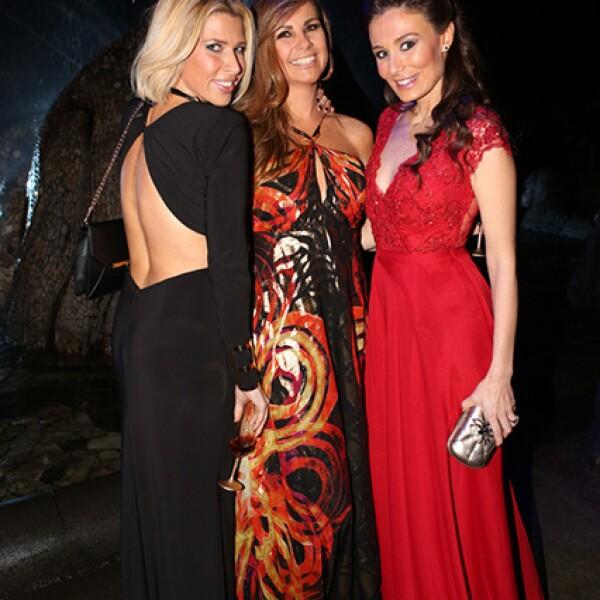 Beatriz Pasquel, Luz Blanchet y Victoria Branda