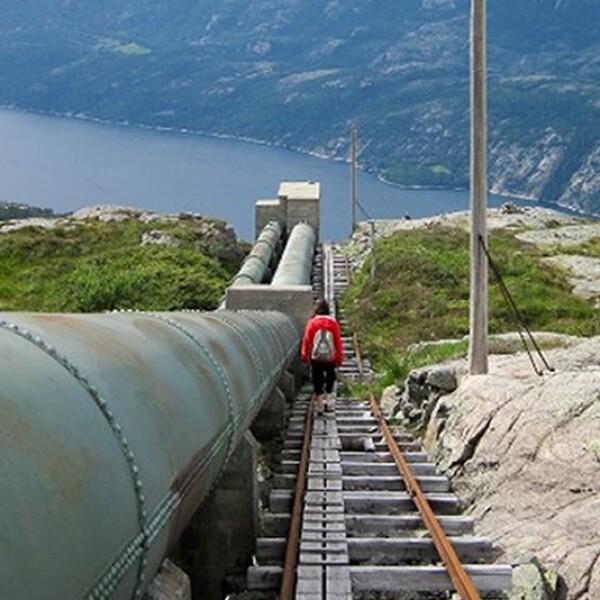 Flørli Escaleras, Noruega