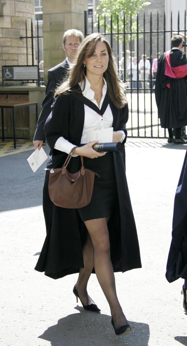 Kate al salir de la universidad en 2005