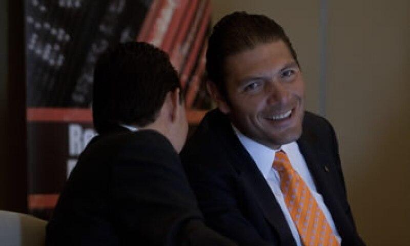 Carlos Hank González es nieto de Roberto González Barrera, fundador de Banorte.  (Foto: Cuartoscuro )