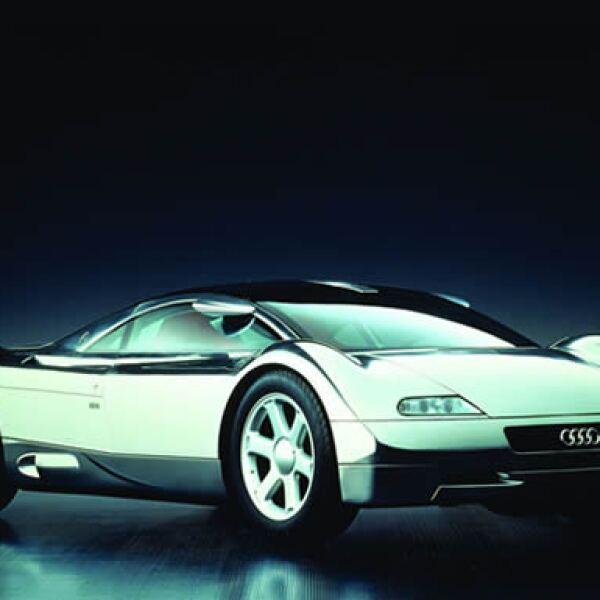 En 1991, Audi el modelo Avus Quattro en el Auto Show de Tokio.