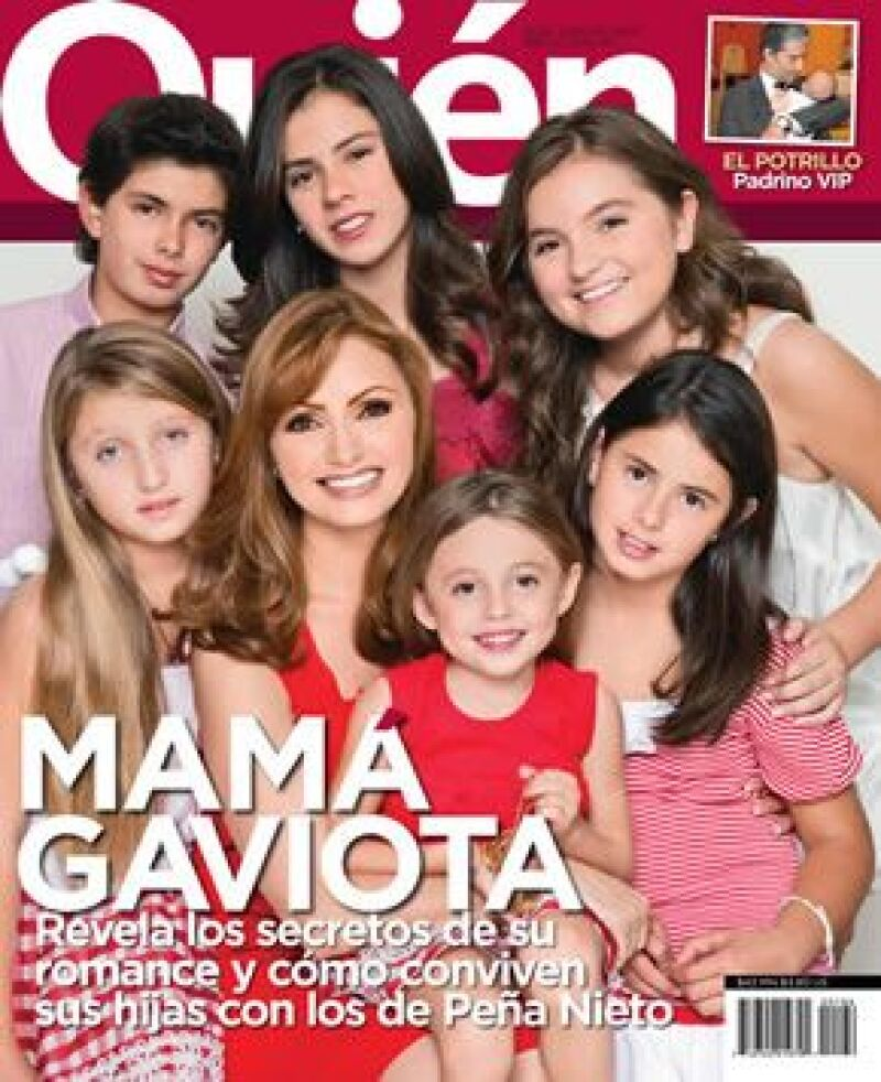 Angélica Rivera aparece en la edición 193 de la revista Quién, la cual ya está a la venta.