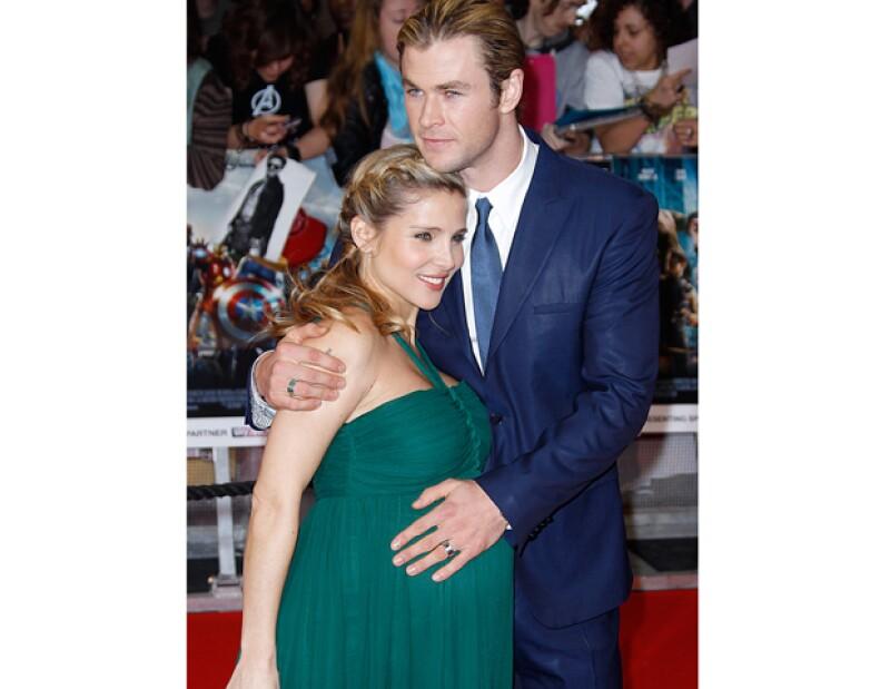 El actor Chris Hemsworth y la actriz española Elsa Pataky se convirtieron en padres de una niña a la que llamaron India Rose.