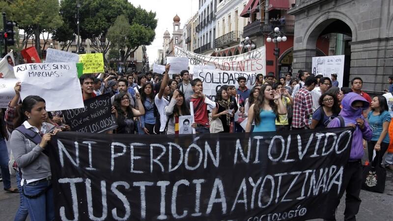 protestas, Ayotzinapa