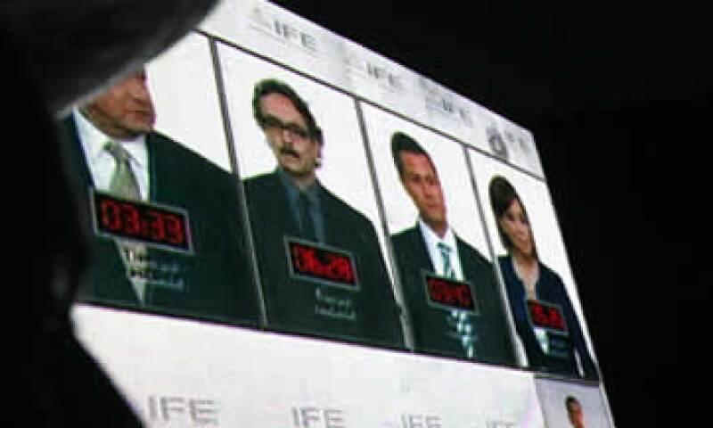 Para el presidente Felipe Calderón la elección aún no está decidida y puede ganarla cualquiera de los tres principales contendientes. (Foto: AP)