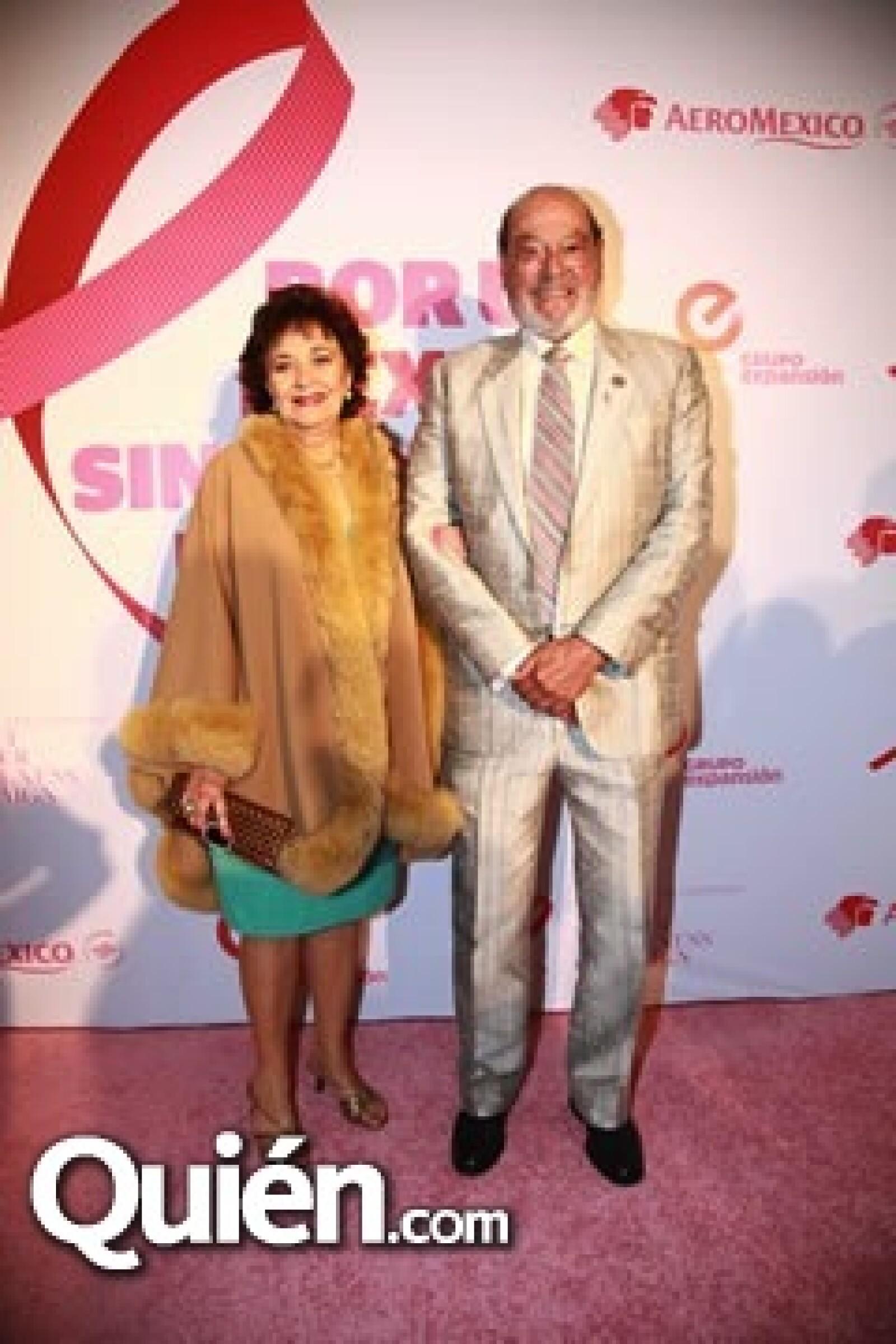 Fernando Guiza y esposa
