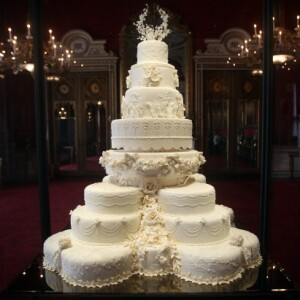 Pastel de la boda real