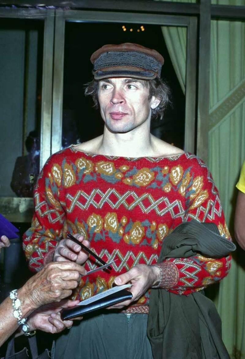 Este famoso bailarín murió años después de contraer VIH.