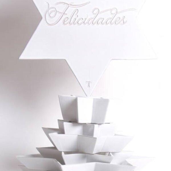 Estos tazones en forma de estrella de Trinitate le ayudarán para la botana tanto en Navidad como en otras épocas del año.