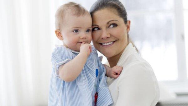 El parecido con su madre, Victoria de Suecia, es palpable.