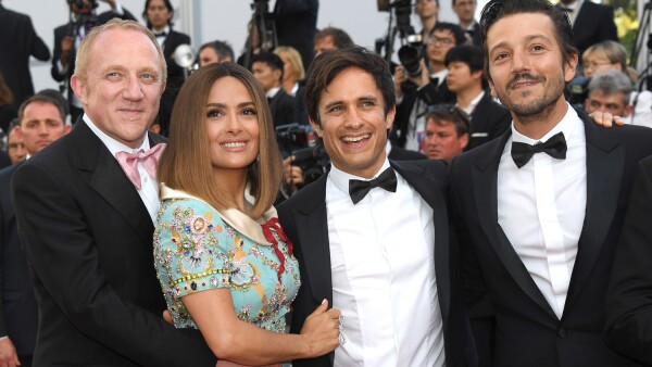 Cannes, Salma Hayek, Diego Luna, Gael García, Pinaul