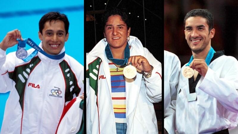 medallistas olímpicos platas jimenez estrada