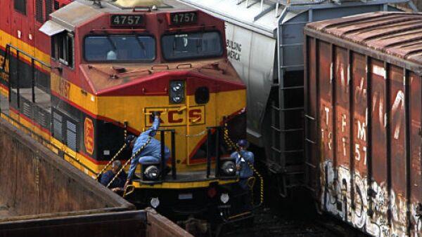 ferrocarril estacionado