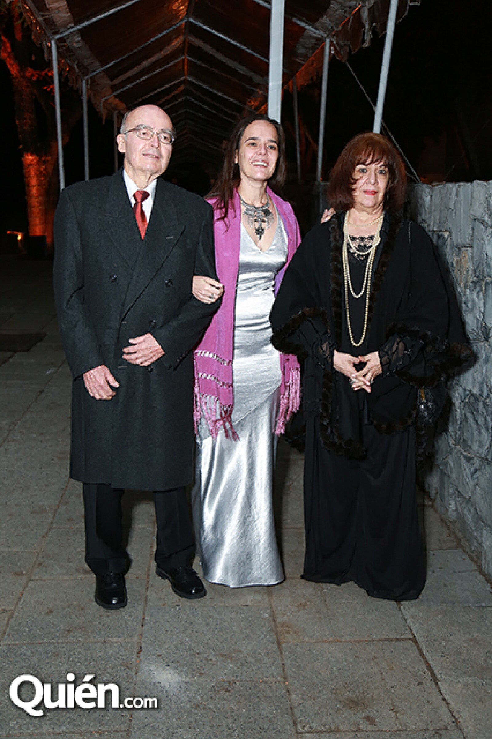 Fernando Guzmán,Yolanda Guzmán y Yolanda Morales