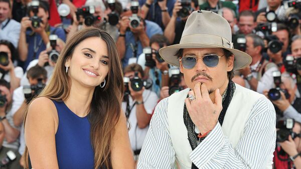 Penélope Cruz y Johnny Deep