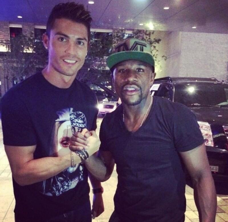 Antes de reunirse con su equipo este sábado en Los Ángeles, Cristiano se encontraba de vacaciones en Las Vegas.
