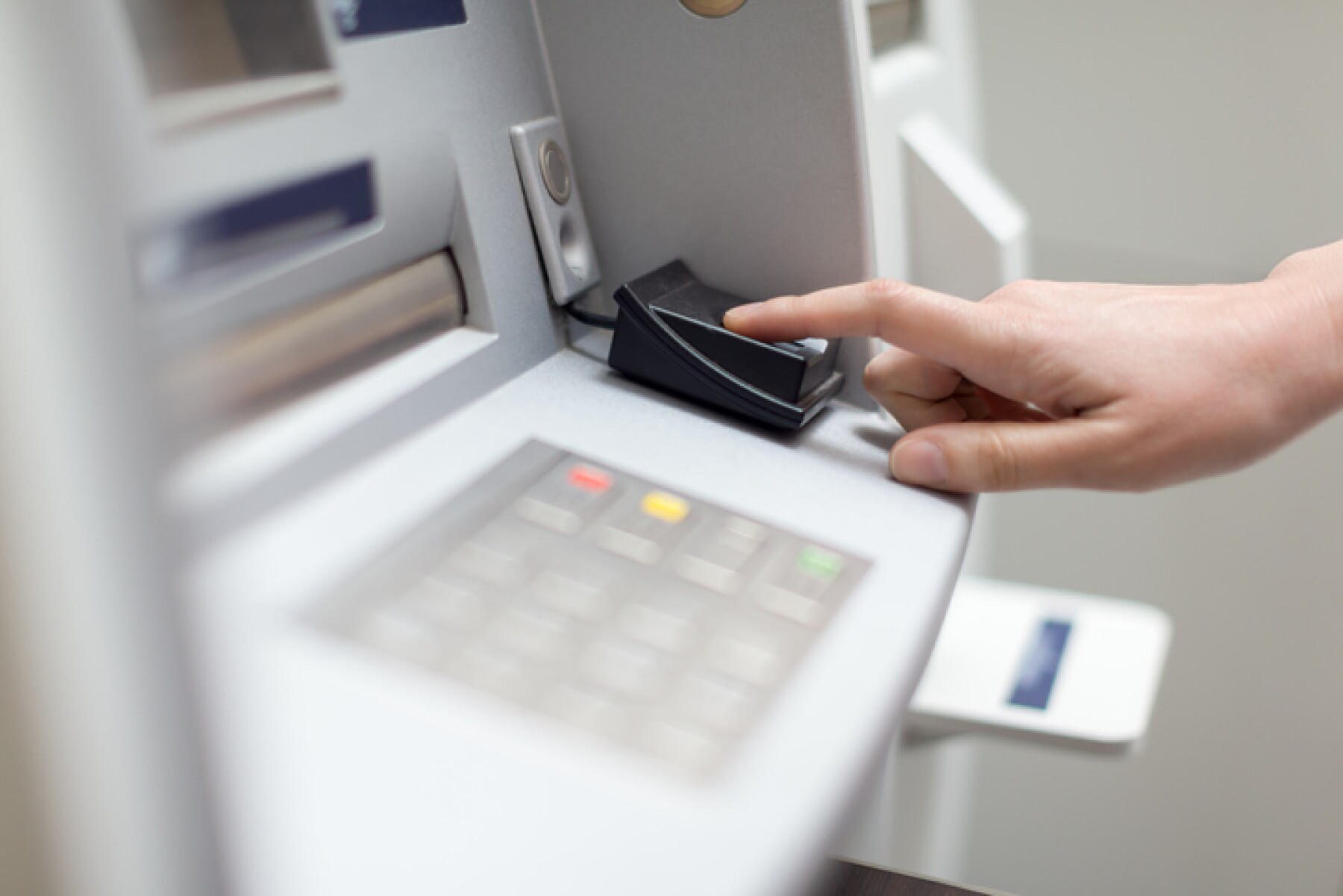 Fingerprint recognition technology on ATM