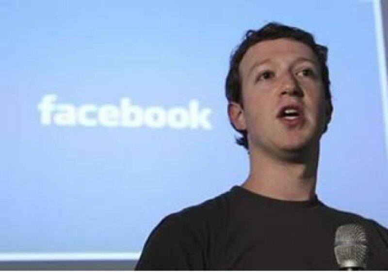 Con la inversión de Goldman Sachs y Digital Sky Technologies, Facebook se valuó en 50,000 mdd. (Foto: Reuters)