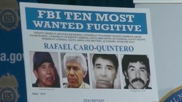Por qué EE.UU. ofrece 20 millones de dólares por información sobre Caro Quintero