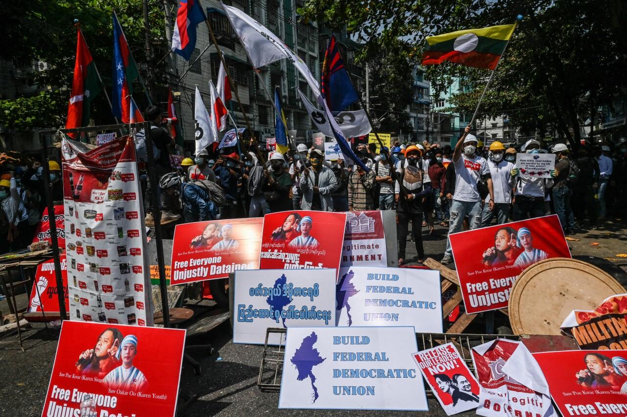Las protestas contra el golpe de estado en Myanmar dejan al menos 18 muertos