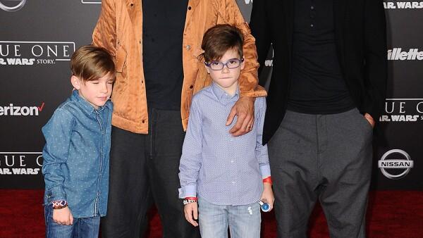 Ricky Martin, Jwan Yosef y sus hijos