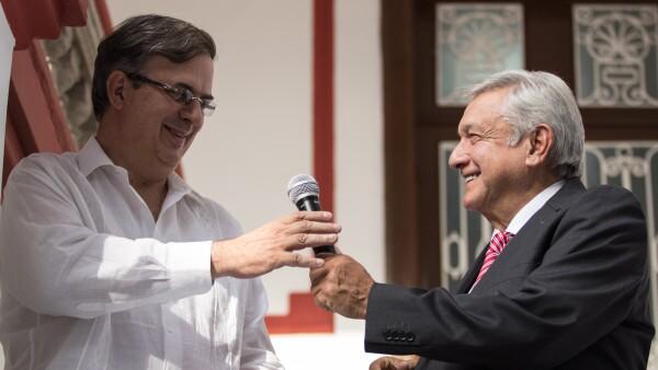 Lopez Obrador, Marcelo Ebrard, AMLO