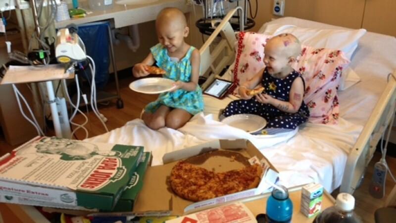 niña cancer pizza los angeles