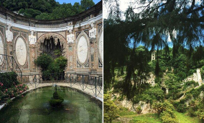 Durante tres días disfrutó de Villa del Este, localidad muy cercana a Roma.