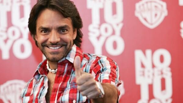 Eugenio Derbez dice que come bien para estar en forma.